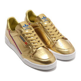 adidas CONTINENTAL 80(アディダス コンチネンタル 80)GOLD METRIC/GOLD METRIC/CRYSTAL WHITE【メンズ レディース スニーカー】20SS-I
