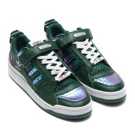 adidas FORUM LOW(アディダス フォーラム ロウ)DARK GREEN/DARK GREEN/FOOTWEAR WHITE【メンズ レディース スニーカー】20FW-S