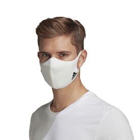 "adidas Face cover Adult""mask""(アディダス フェイスカバー アダルト)WHITE【メンズ レディース マスク】20FW-I"