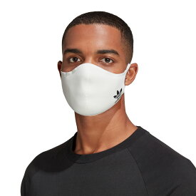"adidas Face cover Adult""mask""(アディダス フェイスカバー アダルト)WHITE/BLACK【メンズ レディース マスク】20FW-I"