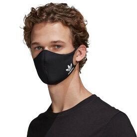 "adidas Face cover Adult""mask""(アディダス フェイスカバー アダルト)BLACK/WHITE【メンズ レディース マスク】21SS-I"