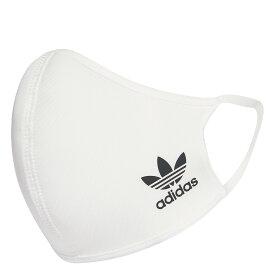 "adidas Face cover Kids ""mask""(アディダス フェイスカバー キッズ)WHITE/BLACK【キッズ マスク】20FW-I"