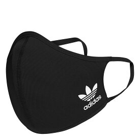"adidas Face cover Kids""mask""(アディダス フェイスカバー キッズ)BLACK/WHITE【キッズ マスク】20FW-I"
