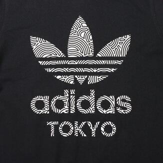 adidasTREFOILTOKYOTEE(アディダストレフォイルトーキョーTシャツ)BLACK/WHITE【メンズ半袖Tシャツ】20FA-I