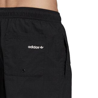 adidas BOLD SWIMSHORT(アディダス BOLD スイムショーツ)BLACK/WHITE【メンズ ハーフパンツ】21FA-I