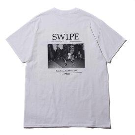ARTIS SWIPE TEE (アトモス アーティズ スワイプ ティ)WHITE【メンズ Tシャツ】19SP-S