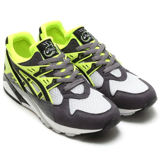 Asics GEL-KAYANO TRAINER (아 식스 젤 カヤノ 조련사) GRAY/YELLOW/BLACK 14FW-S