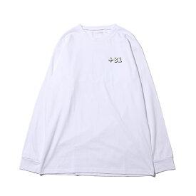 atmos pink TOKYOプリント ロング Tシャツ(TOKYOプリント ロングTシャツ)WHITE【レディース 長袖Tシャツ】18FW-I