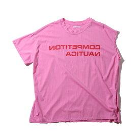 atmos pink アシメカット TシャツTX(アトモスピンク アシメカット TシャツTX)PINK【レディース 半袖Tシャツ】19SU-I