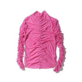 atmos pink ギャザータートルネック TX(アトモスピンク ギャザータートルネック TX)PNK【レディース 長袖Tシャツ】19HO-I at20-c