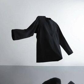 A-GIRLS ATMOS Pinnacle Long Sleeve Line Tee (エイガールズ アトモス ピナクル ロングスリーブ ティーシャツ) BLACK【メンズ Tシャツ】19SS-S