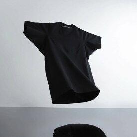 A-GIRLS ATMOS Pinnacle Short Sleeve Line Tee (エイガールズ アトモス ピナクル ショートスリーブ ティーシャツ) BLACK【メンズ Tシャツ】19SS-S