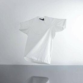 A-GIRLS ATMOS Pinnacle Short Sleeve Line Tee (エイガールズ アトモス ピナクル ショートスリーブ ティーシャツ) WHITE【メンズ Tシャツ】19SS-S