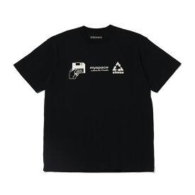 atmos MY SPACE TEE(アトモス マイスペース ティー)BLACK【メンズ 半袖Tシャツ】20SP-S