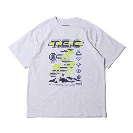atmos T.E.C TEE(アトモス テック ティー)GRAY【メンズ 半袖Tシャツ】20FA-I