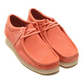 Clarks Wallabee (クラークス ワラビー)Coral Suede【メンズ スニーカー】19SP-I
