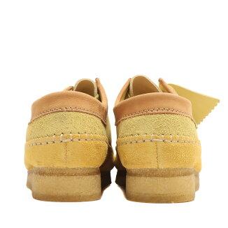ClarksxLevisWeaverYellowCombi(クラークスxリーバイスウィーバーイエローコンビ)Yellow【メンズスニーカー】21SU-I