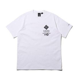 COCA-COLA x Columbia x ATMOS LAB CSC BASIC LOGO TXT SHORT SLEEVE T-SHIRT(コカコーラ コロンビア アトモスラボ ベーシック ロゴ ショート スリーブ ティーシャツ)WHITE, INTENSE RED【メンズ 半袖Tシャツ】20SP-S at20-c