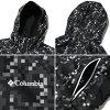 Columbia×Atmos LAB PLINY PEAK JACKET (Colombia x Atmos lab prinny peak jacket) BLACK PATTERN 16SS-S
