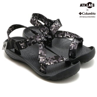 Columbia×Atmos LAB QUIPUI STRAP II (Colombia x Atmos lab keeps straps II) BLACK 16SS-S