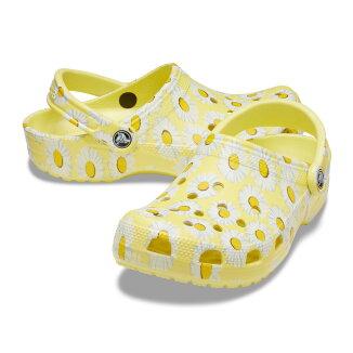 crocsClassicVacayVibesClog(クロックスクラシックヴァケイヴァイブズクロッグ)YellowDaisy【メンズレディーススニーカー】21SS-I