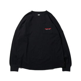 DC SHOES 19 BACKTAPE LS(ディーシー シューズ バックテープ ロングスリーブ)BLACK【メンズ 長袖Tシャツ】19FW-I