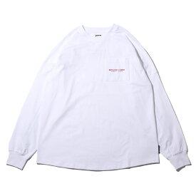 DC SHOES 19 BACKTAPE LS(ディーシー シューズ バックテープ ロングスリーブ)WHITE【メンズ 長袖Tシャツ】19FW-I