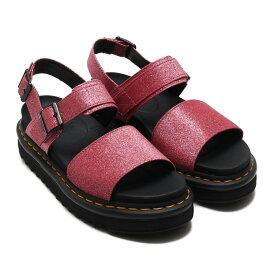 Dr.Martens Voss Strap Sandal (ドクターマーチン ボス ストラップ サンダル)Pink Fine Glitter Pu【レディース サンダル】19SS-I
