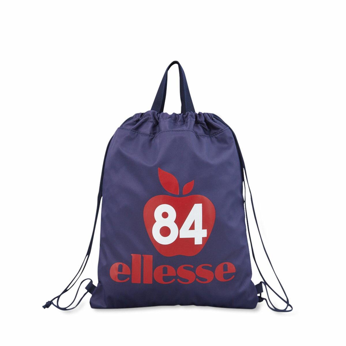 ellesse HERITAGE LAUNDRY BAG(エレッセ ヘリテージ ランドリー バッグ)NAVY/APPLE【メンズ レディース トートバッグ】18SP-I