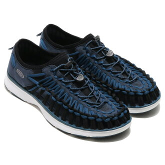 KEEN UNEEK O2 M(基恩独特的O2 M)MIDNIGHT NAVY/WHITE 16SU-I