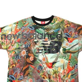NewBalanceXatmosNBTシャツ(NewBalanceXatmosNBTシャツ)アーバンフローラルプリント【メンズ_レディースTシャツ】19SS-I