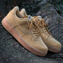 NIKE AIR FORCE 1 '07 WB(ナイキ エア フォース 1 '07 WB)FLAX/FLAX-GUM LIGHT BROWN-OUTDOOR GREEN【メンズ レディー…