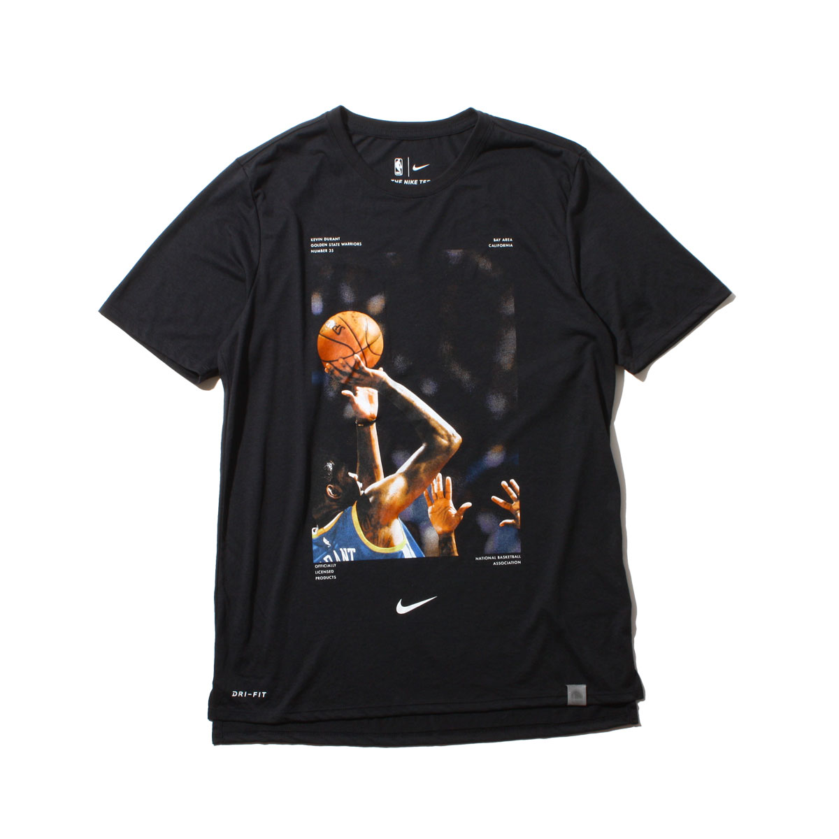 NIKE AS NBA M NK DRY TEE PPACK 5 (ナイキ NBA PPACK S/S Tシャツ ケヴィン・デュラント) BLACK【メンズ Tシャツ】18SP-S