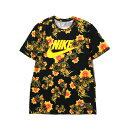 NIKE AS M NSW TEE CNCPT RED 1 (ナイキ コンセプト レッド Tシャツ 1) BLACK/TOUR YELLOW【メンズ Tシャツ】...