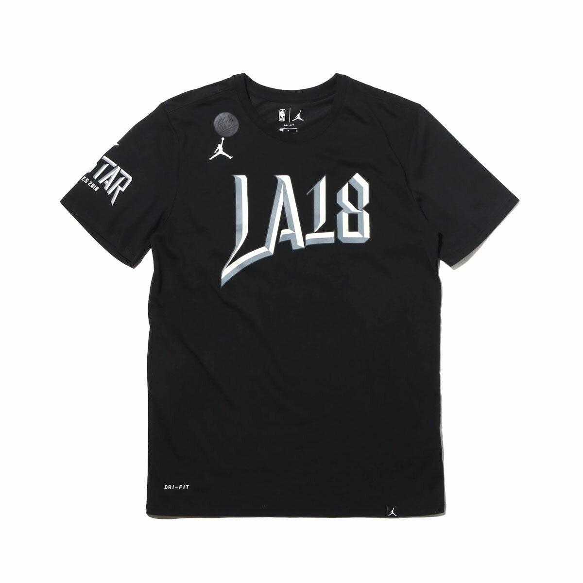 NIKE AS NBA M NK DRY TEE ASW LOGO J (ナイキ ASW ロゴ J S/S Tシャツ) BLACK【メンズ Tシャツ】18SP-S