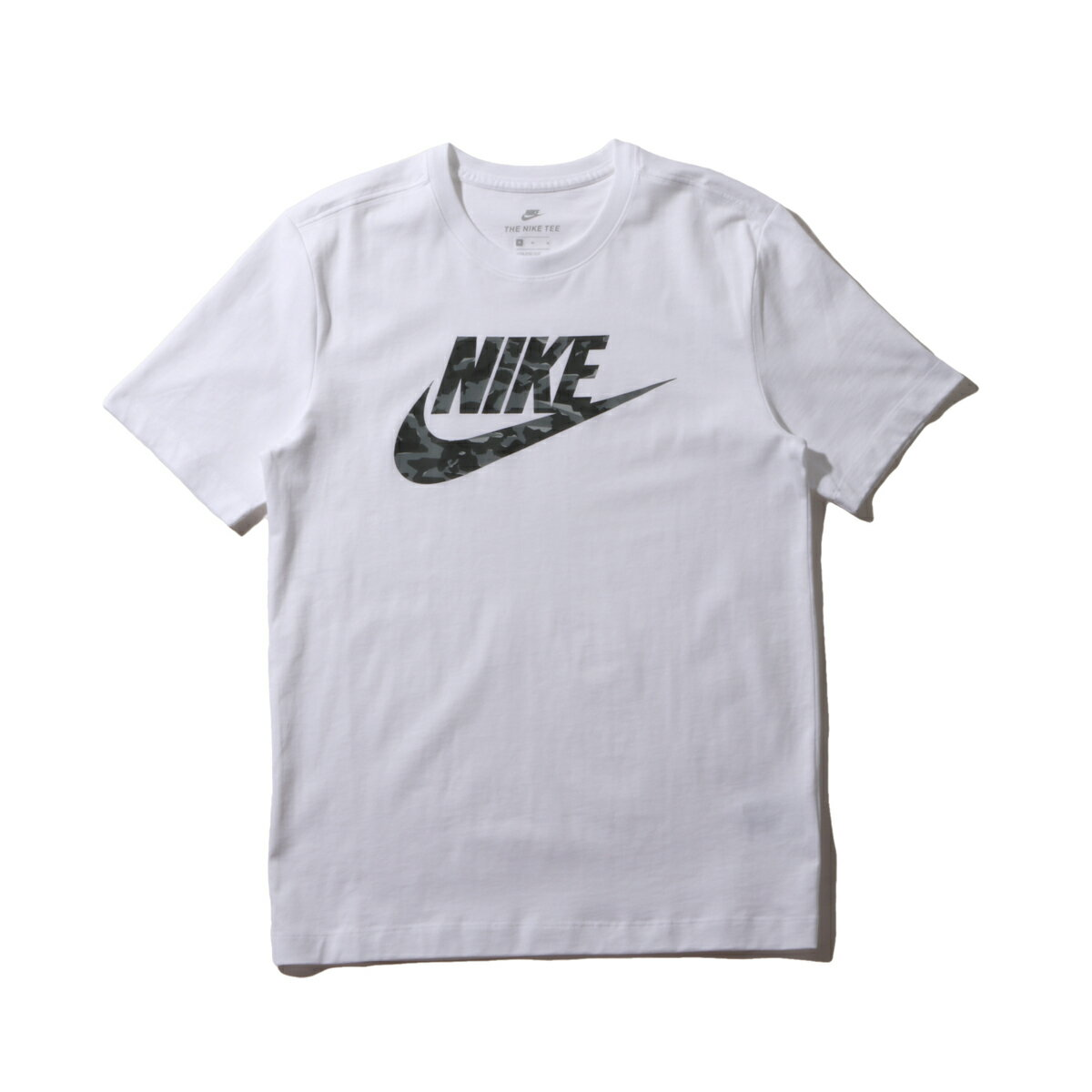 NIKE AS M NSW TEE CAMO PACK 2 AS(ナイキ NSW カモ パック S/S Tシャツ 2)WHITE/COOL GREY/WOLF GREY【メンズ Tシャツ】18FW-I