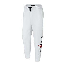 NIKE JUMPMAN AIR GFX FLEECE PANT(ナイキ ジョーダン ジャンプマン エア GFX フリース パンツ)WHITE/GYM RED【メンズ パンツ】18FW-I