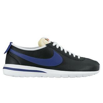 d107860ec346 atmos-tokyo  NIKE ROSHE CORTEZ NM LTR (NM Nike Ros Cortez leather) BLACK DEEP  ROYAL BLUE-SAFTY ORANGE 16SP-I