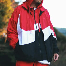 NIKE AS M NSW HBR JKT WVN STMT(ナイキ HBR STMT ウーブン ジャケット)UNIVERSITY RED/WHITE/UNIVERSITY RED【メンズ ジャケット】19SP-I