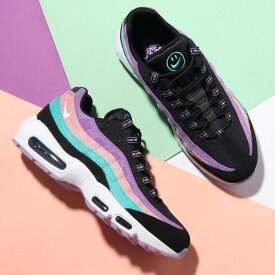 NIKE AIR MAX 95 ND (ナイキ エア マックス 95 ND)BLACK/WHITE-HYPER JADE-BLEACHED CORAL【メンズ レディース スニーカー】19SP-I at20-c