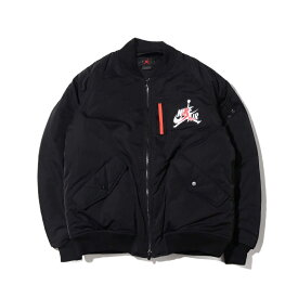 NIKE M J WINGS MA-1 JACKET(ナイキ ジョーダン WINGS MA−1 ジャケット)BLACK【メンズ ジャケット】19HO-S