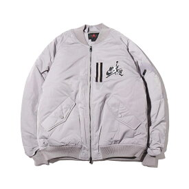 NIKE M J WINGS MA-1 JACKET(ナイキ ジョーダン WINGS MA−1 ジャケット)ATMOSPHERE GREY【メンズ ジャケット】19HO-S