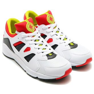 NIKE AIR HUARACHE INTERNATIONAL(naikieaharachiintanashonaru)WHITE/UNIVERSITY RED-BRIGHT CACTUS/BLACK 16SP-S