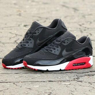 5d091c57bf8e NIKE AIR MAX 90 ESSENTIAL (Nike Air Max 90 essential) BLACK BLACK-GYM  RED-WHITE 16HO-S