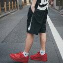 NIKE AS M NSW SHORT WVN HYBRID (ナイキ ウーブン ハイブリッド ショート) BLACK/WHITE【メンズ ショートパンツ】17...
