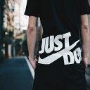 NIKE AS M NSW TEE HYBRID JDI(ナイキ ハイブリッド JDI ティ)BLACK/WHITE【メンズ Tシャツ】17SU-I