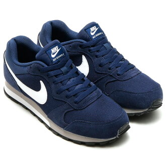 NIKE MD RUNNER 2(耐克中间赛跑者2)MIDNIGHT NAVY/WHITE-WOLF GREY CRYOVR