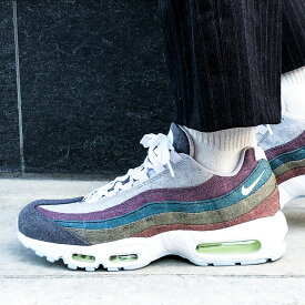 "NIKE AIR MAX 95""NIKE RECYCLED CANVAS PACK""(ナイキ エア マックス 95)VAST GREY/WHITE-BARELY VOLT【メンズ スニーカー】20FA-I at20-c"