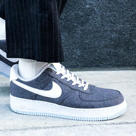 "NIKE AIR FORCE 1 '07""NIKE RECYCLED CANVAS PACK""(ナイキ エア フォース 1 '07)IRON GREY/WHITE-BARELY VOLT【メンズ レディース スニーカー】20FA-I"