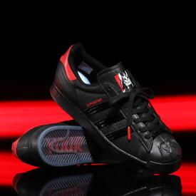 adidas x starwars SUPERSTAR DARTH VADER(アディダス x スターウォーズ スーパースター ダース ベイダー)CORE BLACK/CORE BLACK/SCARLET【メンズ レディース スニーカー】20SS-S